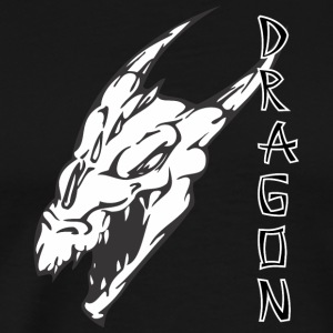 sharp_face_dragon - Men's Premium T-Shirt