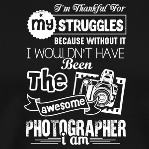 Awesome Photographer Shirts - Men's Premium T-Shirt