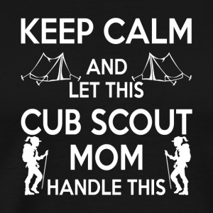 Let This Cub Scout Mom Handle This T Shirt - Men's Premium T-Shirt