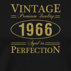 Vintage Premium Quality 1966 Aged To Perfection - Men's Premium T-Shirt