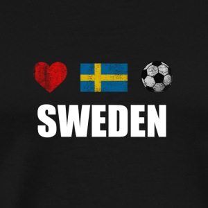 Sweden Football Swedish Soccer T-shirt - Men's Premium T-Shirt