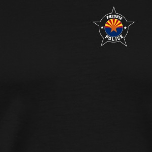 Phoenix Police T Shirt - Arizona flag - Men's Premium T-Shirt