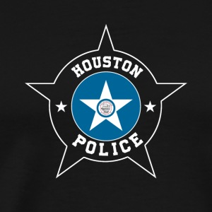 Houston Police T Shirt - Houston Flag - Men's Premium T-Shirt
