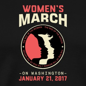 Women's March Washington - Men's Premium T-Shirt