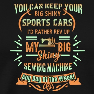 Sewing Machine Shirt - Men's Premium T-Shirt