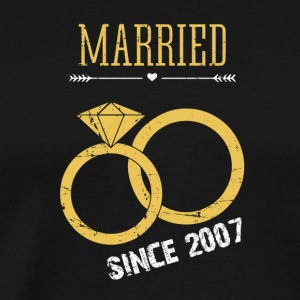 Married since 2007 - Men's Premium T-Shirt