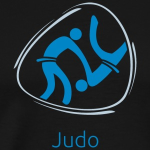 Judo_blue - Men's Premium T-Shirt