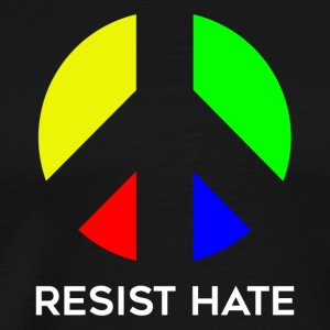 Resist rainbow - Men's Premium T-Shirt