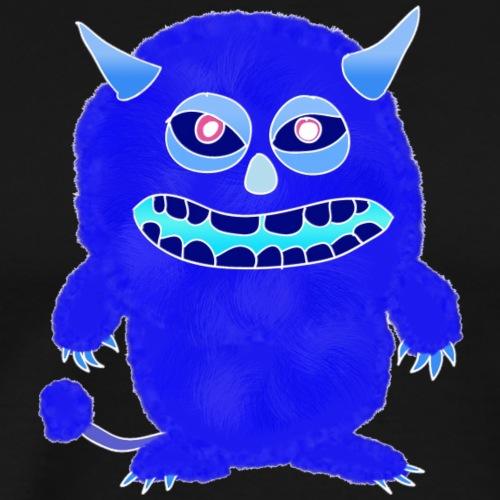 Plushy blue Monster Isle - Men's Premium T-Shirt