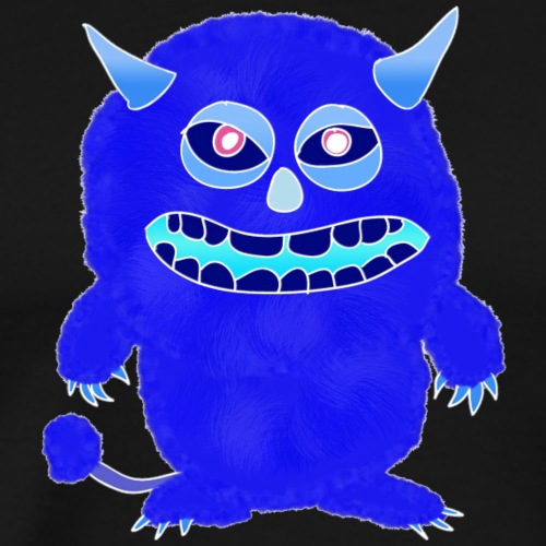 Plushy blue Monster Isle - Men's Premium T-Shirt