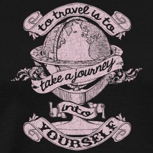 Travel Is To Take A Journey Into Yourself T Shirt - Men's Premium T-Shirt