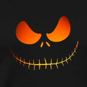 orange cool hell smile - Men's Premium T-Shirt