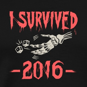 I survived 2016 - Men's Premium T-Shirt