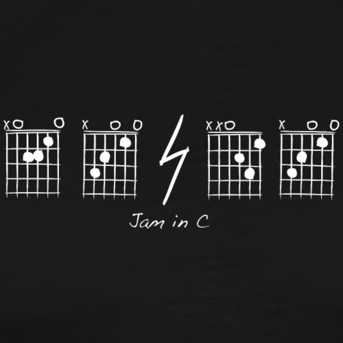 A-C-D-C Jam in C - Men's Premium T-Shirt