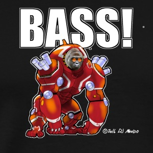 DJ Mondo's Rave: BASS! - Men's Premium T-Shirt