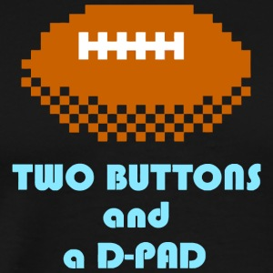 Two Buttons and a D Pad - Men's Premium T-Shirt