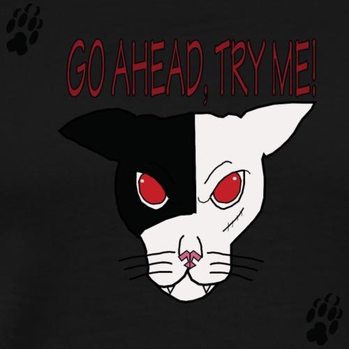 TryMe! Cat T Shirt - Men's Premium T-Shirt