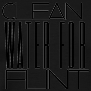 CLEAN WATER FOR FLINT - Men's Premium T-Shirt