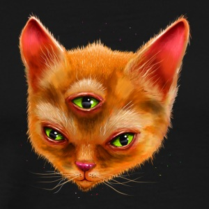 3 Eye Cat - Men's Premium T-Shirt