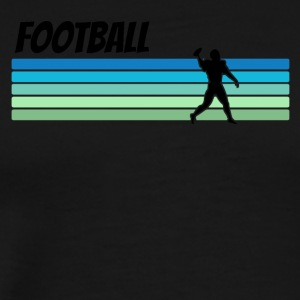 Retro Football - Men's Premium T-Shirt