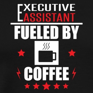 Executive Assistant Fueled By Coffee - Men's Premium T-Shirt