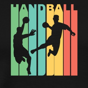 Vintage Handball Graphic - Men's Premium T-Shirt