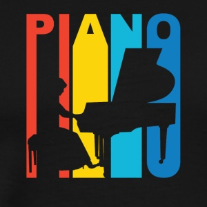 Vintage Piano Graphic - Men's Premium T-Shirt