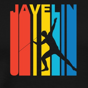 Vintage Javelin Graphic - Men's Premium T-Shirt
