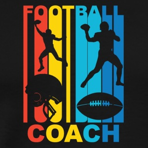 Vintage Football Coach Graphic - Men's Premium T-Shirt