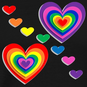 Isle_of_rainbow_love | by Isles of Shirts - Men's Premium T-Shirt