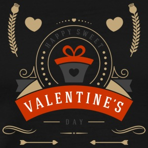 Happy Sweet Valentines Day To You - Men's Premium T-Shirt