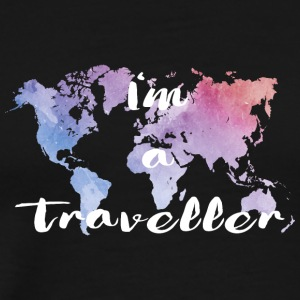 I'm a traveller - Men's Premium T-Shirt