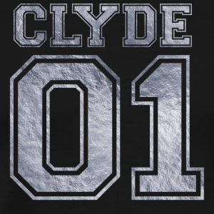 Clyde_01_silver_1 - Men's Premium T-Shirt