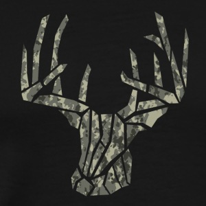 Buck Ridgid Camo - Men's Premium T-Shirt