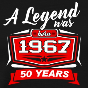 50 YEARS Birthday 1967 a legend T-Shirt - Hoodie - Men's Premium T-Shirt