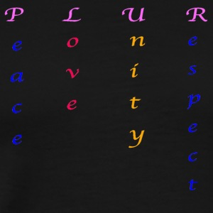 Plur - Men's Premium T-Shirt
