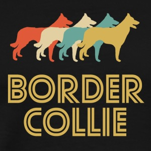 Border Collie Pop Art - Men's Premium T-Shirt