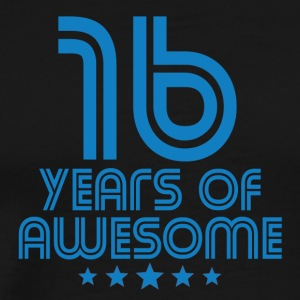 16 Years Of Awesome 16th Birthday - Men's Premium T-Shirt