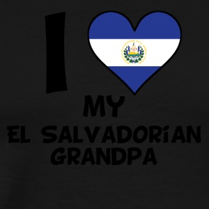 I Heart My El Salvadorian Grandpa - Men's Premium T-Shirt