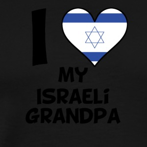 I Heart My Israeli Grandpa - Men's Premium T-Shirt