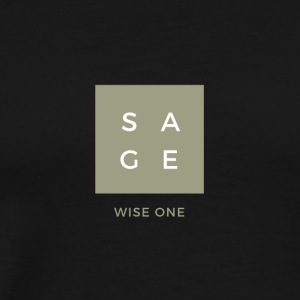Meaning of the name Sage - Men's Premium T-Shirt