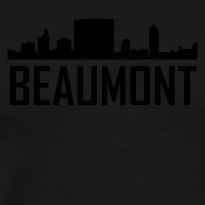 Beaumont Texas City Skyline - Men's Premium T-Shirt