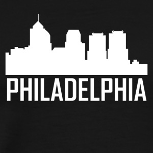 Philadelphia Pennsylvania City Skyline - Men's Premium T-Shirt