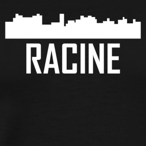Racine Wisconsin City Skyline - Men's Premium T-Shirt