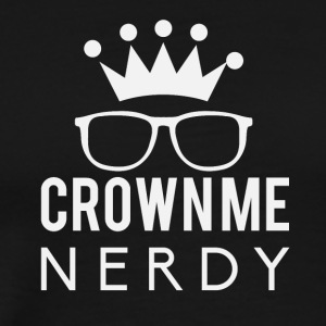 Crownie nerdy - Men's Premium T-Shirt