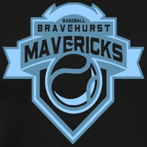 BASEBALL BRAVEHURST MAVERICKS - Men's Premium T-Shirt