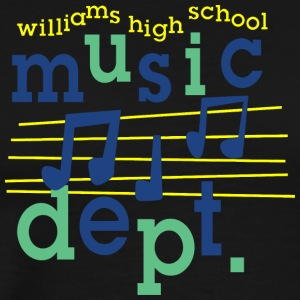 williams high school music dept - Men's Premium T-Shirt