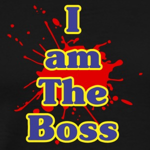 i am the boss - Men's Premium T-Shirt
