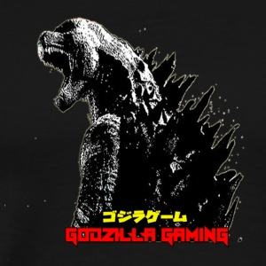 Big Cartel Godzilla Gaming Edit REAL - Men's Premium T-Shirt