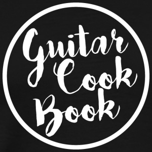 guitarcookbook white - Men's Premium T-Shirt